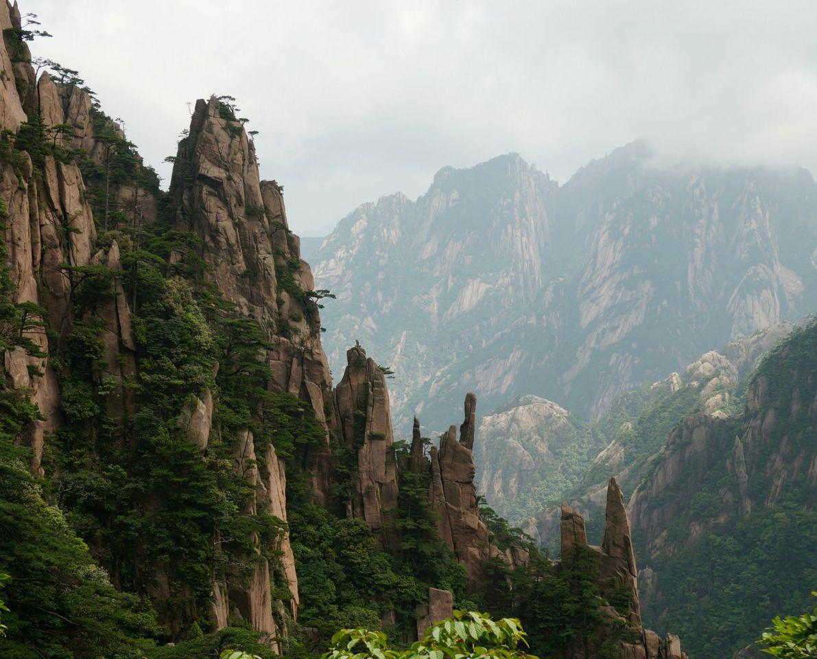 Montaña Amarilla China